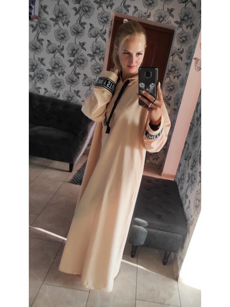 Ilga suknelė bliuzonas 1