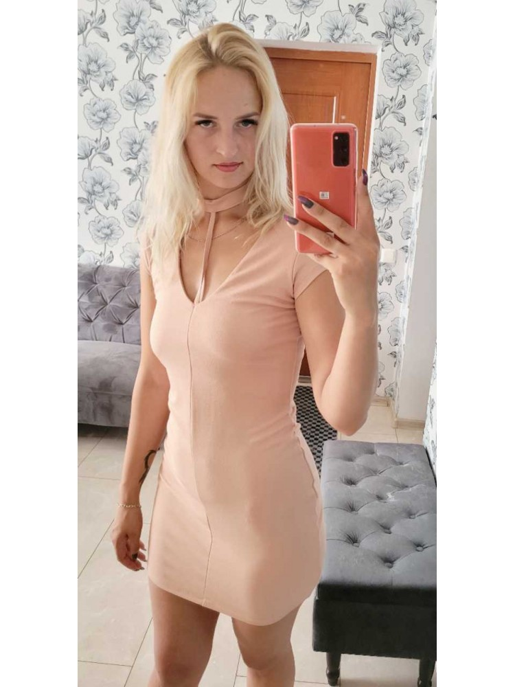Nude suknelė 094