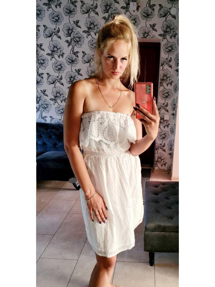 Balta suknelė 5
