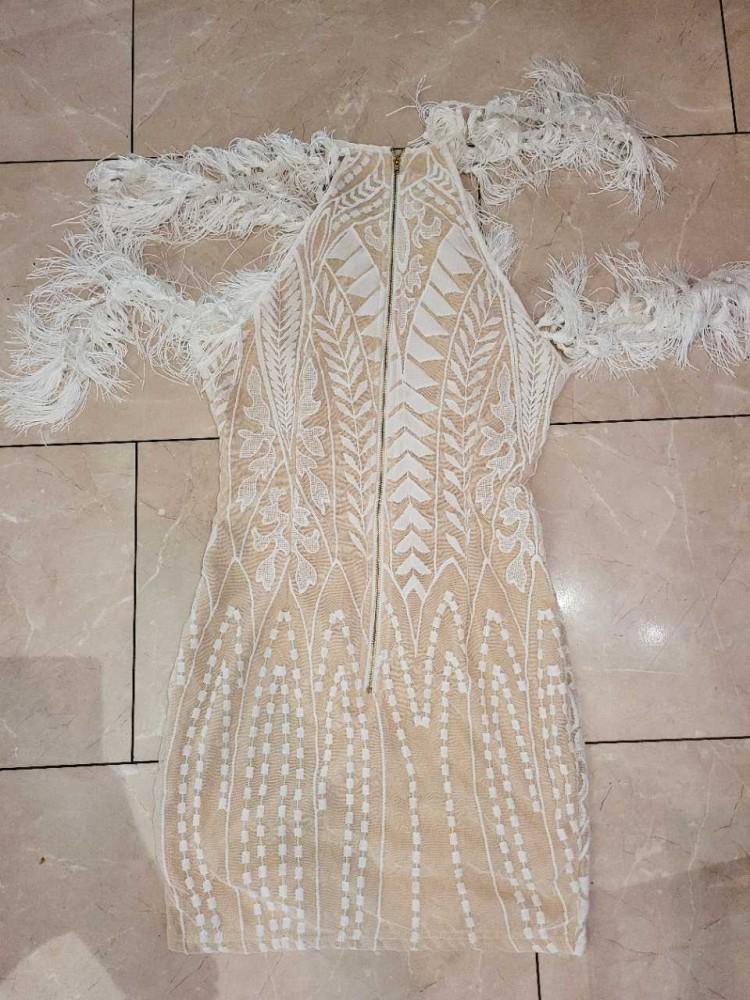 Suknelė balta 754