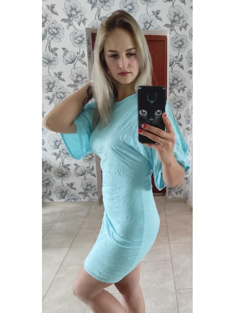 Mėlyna suknelė 98