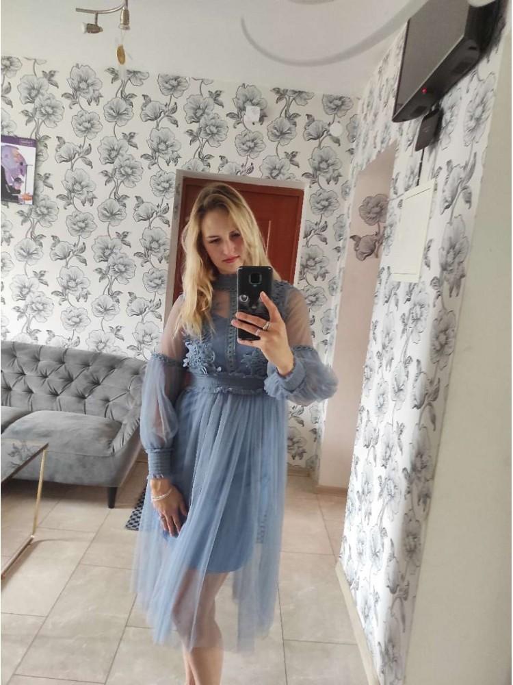 Mėlyna suknelė 6