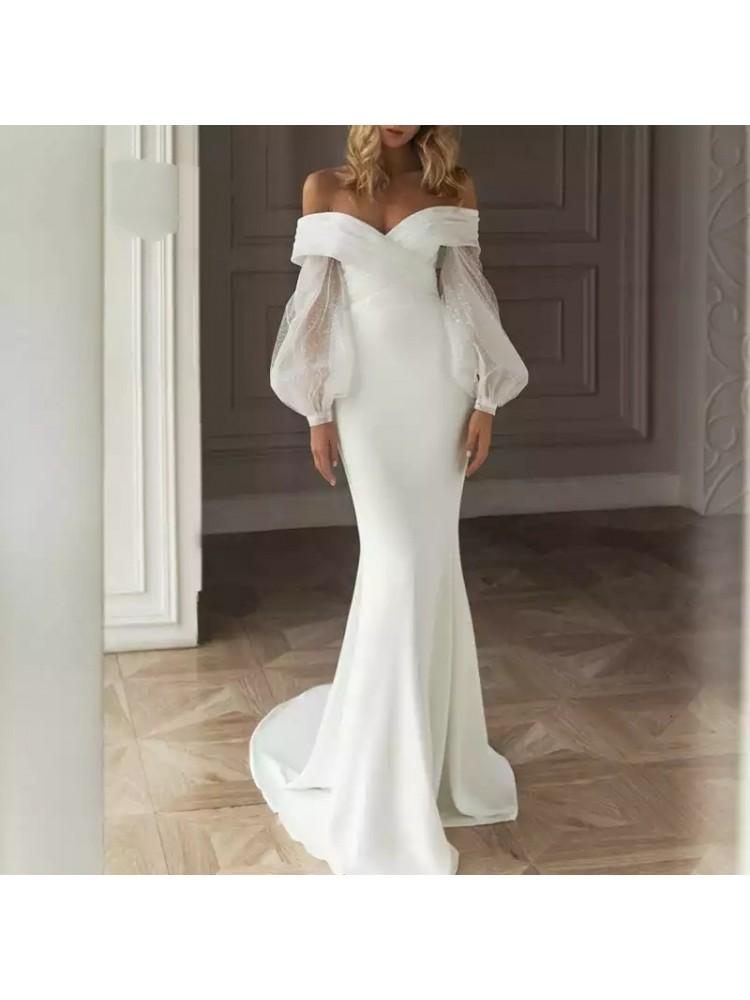 Balta suknelė 01